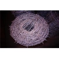 Wholesale Single Twist / Double Twist Barbed Wire For Pasture / Railway Fence from china suppliers