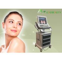 China FDA approval 3 years warranty 1.5mm , 3mm ,4.5mm Focal Depth face lift hifu ultrasound machine wrinkle remove for sale