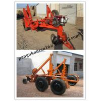 Wholesale low price Cable Winch,Cable Drum Trailer, new type Cable Drum Carrier from china suppliers