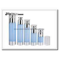 Wholesale Clear Plastic Airless Pump Bottles Containers , Empty Cosmetic Containers from china suppliers