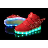 Wholesale Low MOQ OEM Customize Luminous Children LED Light Shoes from china suppliers