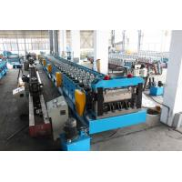 Wholesale Galvanized Steel Floor Deck Roll Forming Machine Hydraulic Decoiler 30KW from china suppliers