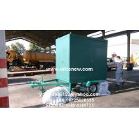 China Mobile Transformer Oil Filter Plant   Long Distance Moving Vacuum Transformer Oil Purifier for sale