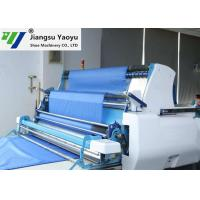 40mm Cutting Length Cloth Automatic Spreading Machine Touch Screen / PLC Control