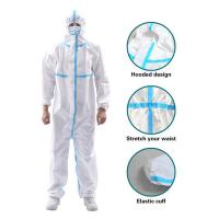 Wholesale Anti Virus Disposable Isolation Gown , Hospital Waterproof Isolation Gown from china suppliers