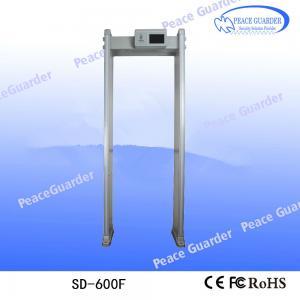 Wholesale 2020 Anti Coronaviru COVID-19 Alarming security door frame walk through metal detector from china suppliers