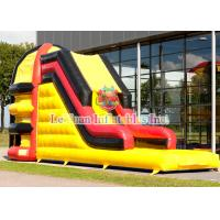 Colorful Printing Logo Inflatable Sport Games Spider Tower Slide For Kids