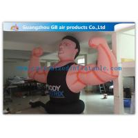 Wholesale Air Man Inflatable Muscle Man Model Advertising Strong For Party , Club from china suppliers
