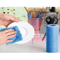 Wholesale Eco - Friendly Disposable Cleaning Wipes Breathable Non Woven Cleaning Wipes from china suppliers