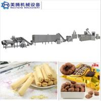Wholesale hot sales Puff Corn Snack Production Line Puffed core filling food machine Food snack extruder machine from china suppliers