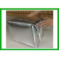 China Double Foil Bubble Box Thermal Insulation Container Liner With Gap For 48 Hours on sale