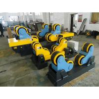 Wholesale 40 T Steel / Rubber Pipe Welding Rotator with Remote Hand Control Box 3kw Motor Power from china suppliers
