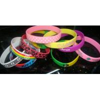 Wholesale 2014 Newest Soft PVC Wristband / Kids Gifts Bracelet/ Promotional Giveaway from china suppliers
