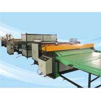 Wholesale 2500mm PE PC PP Corrugated Plastic Sheet Machine High Output And Stable Extruding from china suppliers