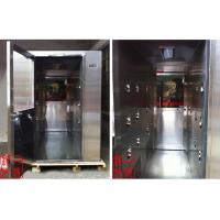 China Hospital Stainless Steel Cleanroom Air Shower , Nozzle Air Flow 25m/s on sale