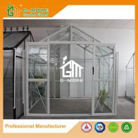 Wholesale Aluminum Profile + Glass, Super Strong DIY Glasshouse - 195X253X250CM (L X W X H) from china suppliers