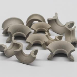 Wholesale Intalox Saddles 50mm Stoneware Ceramic Random Packing from china suppliers