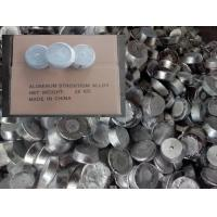 Wholesale Strontium-aluminum alloy AlSr 10% 15%, structural modifier for hypoeutectic aluminum-silicon alloys from china suppliers