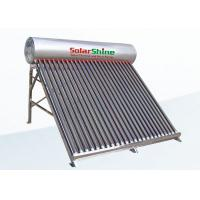Unpressurized Thermosyphon Solar Water Heater Direct Plug Connection Type for sale
