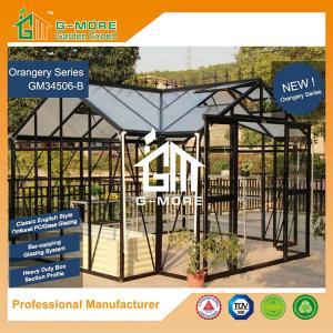 Wholesale Orangery Series, Aluminum Frame + PC + Glass, Unique Shape Hot Sale Orangery Sun Room - 381 X 377 X 250CM (L X W X H) from china suppliers