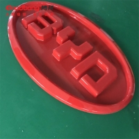 China 3D Vacuum Forming BYD Automotive Signage 4S Shop Illuminated Auto Car Logo signs on sale