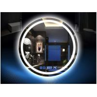 China Muti - Functions Smart Anti Fog Bathroom Mirror With LED Light 750mm Diameter on sale