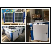Horizontal Cold Room Condensing Unit / AC Condenser Air Conditioning System for sale