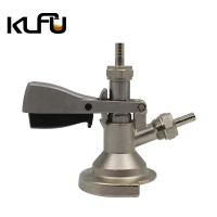 Wholesale Silver Color Brass Material Weight 2.1kg Beer Keg Coupler from china suppliers