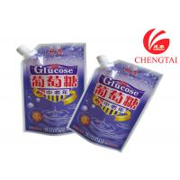 Wholesale Bottom Gusset Standing Up Spout Pouch 2cm Inner Diameter Corner from china suppliers