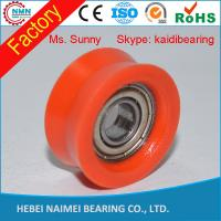 Wholesale aluminum cable pulley wheels,nylon pulley wheels with bearings from china suppliers