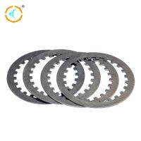 China Chongqing 125cc Motorcycle Clutch Parts Silver Steel Motorcycle Clutch Disc for sale