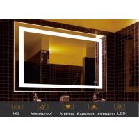 Android One Way Hidden Television Mirror Wall Mount Polished Black Color