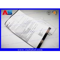 Buy cheap 10ml Vial Leaflets Customized Fold Paper Flyer Printing Free Design Euro-Labs from wholesalers