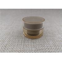 China Non Spill Small Makeup Jars , Empty Cream Jars For Sample Packing 5G on sale