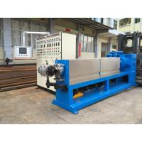 China Dual Color Dual Layer Electric Wire Cable Sheathing Machine High Speed Extrusion for sale