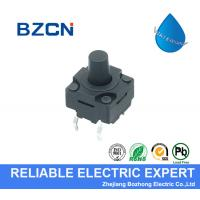 Momentary Waterproof Tactile Switch , Normally Open Push Button Switch for sale