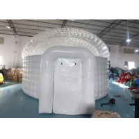 Wholesale 6m Lawn Airtight Inflatable Igloo Air Dome, Large Inflatable Igloo Tent from china suppliers