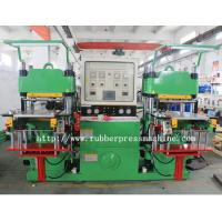 Wholesale Single Mold Silicone Rubber Flat Vulcanizing Machine / Compression Moulding Machine from china suppliers