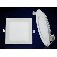 Square panel light led recessed mounted 12W down light slim lamp IC driver