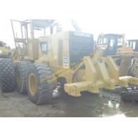 Yellow Used Caterpillar Grader 140g Japan For Farm Work Construction for sale