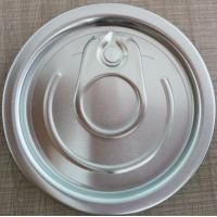 China 202# 52mm Aluminum full-open easy open end with safe-rim on sale