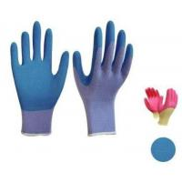 Wholesale Latex foam coated gloves,10G high grade T/C liner,crinkle finsh,anti-acid/alkali from china suppliers