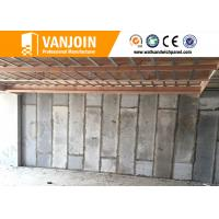 China Non Asbestos Sandwich Wall Panels , Interior Wall Partition Panel on sale