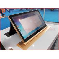 Wholesale 45 Degree Tilting Conference LCD Monitor Lift With 15.6 Inch Retractable Screen from china suppliers