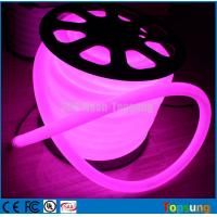 Wholesale 25M spool 24V DC 360 degree purple led neon light dia 25mm round Gold Supplier from china suppliers