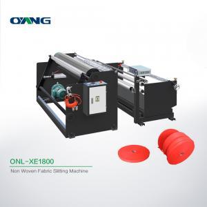 China Plate Non Woven Slitting Machine / Automatic Stretch Film Slitting Rewinding Machine on sale
