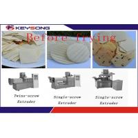 Wholesale Large Capacity Corn Chips Making Machine , Healthy Tortilla Chips Production Line from china suppliers