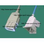 China GE Medical SPO2 Finger Sensor DB 9 pin / pulse oximeter probe Finger Clip And Softtip for sale