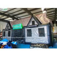 Wholesale Durable Portable Air Inflatable Tents / Pub House Lead Free Pvc Tarpaulin from china suppliers