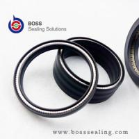 Wholesale Hydraulic pump oil seals carbon PTFE spring energized jacket piston seals from china suppliers